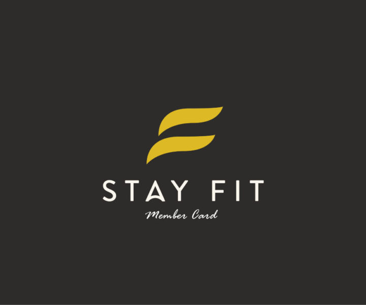 Gym Memberships : STAY FIT Member Card